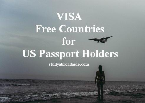 VISA Free Countries for US Passport Holders