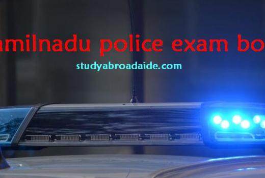 Tamilnadu police exam books