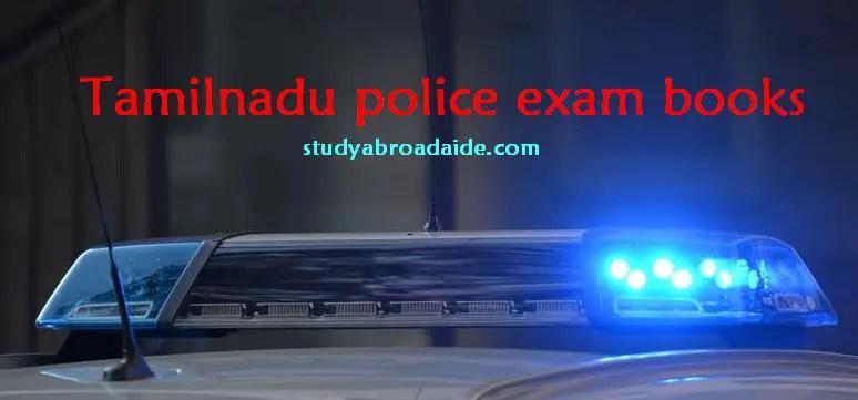 Tamilnadu police exam books