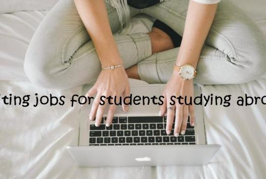 Writing jobs for students studying abroad