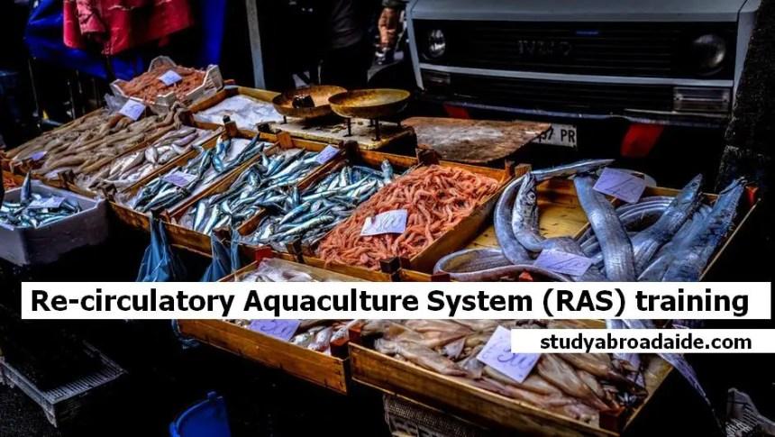 Re-circulatory Aquaculture System (RAS) training 28 to 30 August 2018