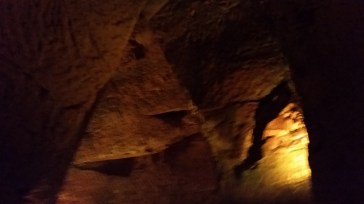 The oldest part of the caves, carved by Gallo-Romans. Now a UNESCO World Heritage Site