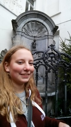 Me with the Manneken Pis