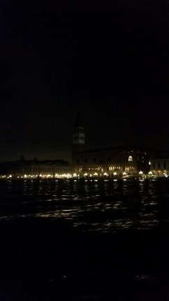 View of the Campanile from our hostel (across the Grand Canal)