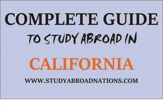 study abroad in California