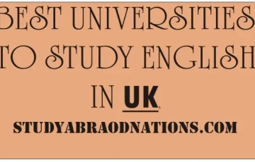 Best Universities To Study English In The UK