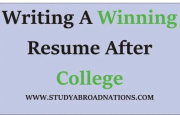 Writing a winning Resume