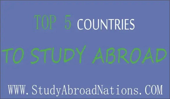 Top best countries to study abroad