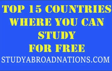 countries where you can study for free