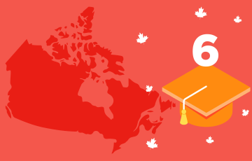 universities accepting ielts score 6 in canada and Australia