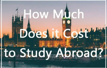 cost of studying abroad