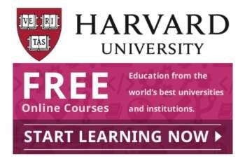 50 Kursus-kursus Online Harvard Gratis
