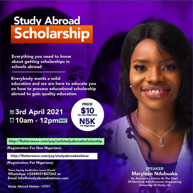 Study Abroad Scholarship Webinar