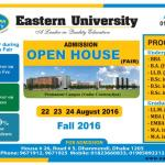 Eastern University Admission Open House
