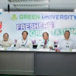 Freshers Orientation of Fall 2017 at Green University