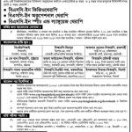 Admission notice for BSC in Physiotherapy under University of Dhaka