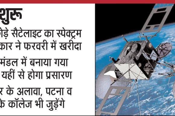 satellite education bihar
