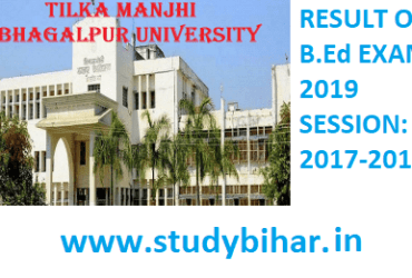 RESULT OF BACHELOR OF EDUCATION EXAMINATION 2019 SESSION: 2017-2019