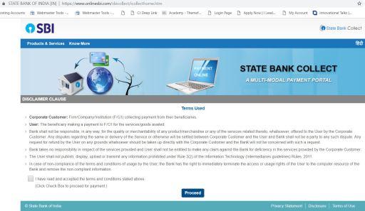 SBI i collect challan BRABU Muzaffarpur Page 1