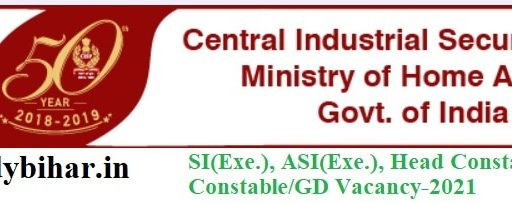 Apply for SI & ASI(Exe.), Head Constable/GD and Constable/GD Vacancy in CSIR, Last Date-15/03/2021.