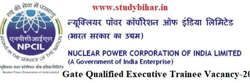 Apply Online for Executive Trainee Vacancy-2021, Only Gate Qualified Applicable, Last Date- 09/03/2021.