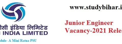 Apply- Junior Engineer Vacancy-2021 in THDC India, Last Date- 28/02/2021.