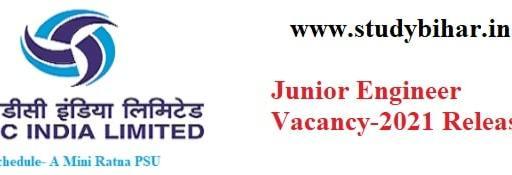 Apply- Junior Engineer Vacancy-2021 in THDC India, Last Date- 28/02/2021.