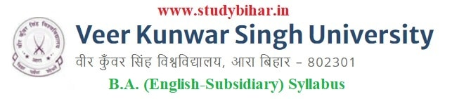 Download B.A. (English-Subsidiary) Syllabus of VKSU, Ara-Bihar