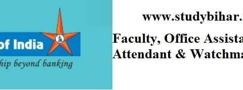 Apply Online for Faculty, Office Assistant, Attendant & Watchman Vacancy-2021