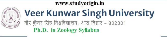 Download the Ph.D. in Zoology Syllabus of Veer Kunwar Singh University, Ara-Bihar