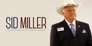 Ag Commissioner Sid Miller