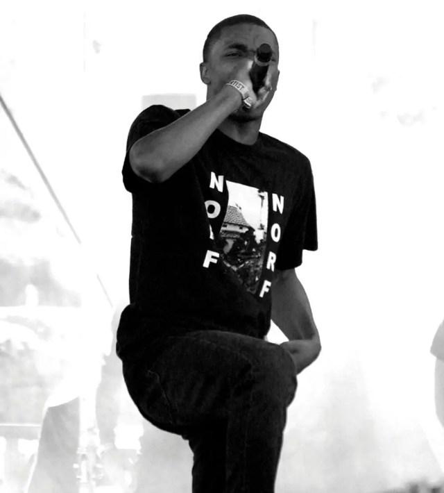 Rapper Vince Staples Performs
