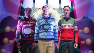 """Seth Rogen in """"The Night Before"""""""