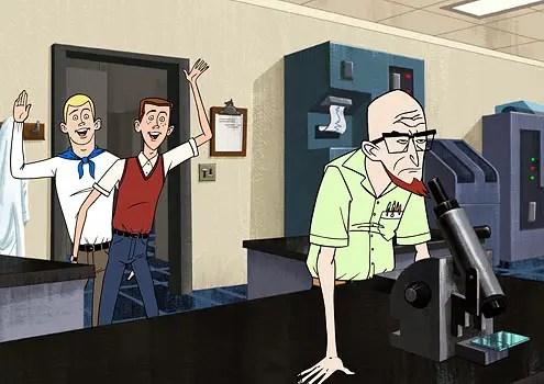 Ventures Bros Cartoon