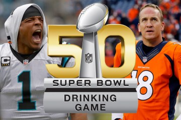 The Study Breaks Super Bowl Drinking Game