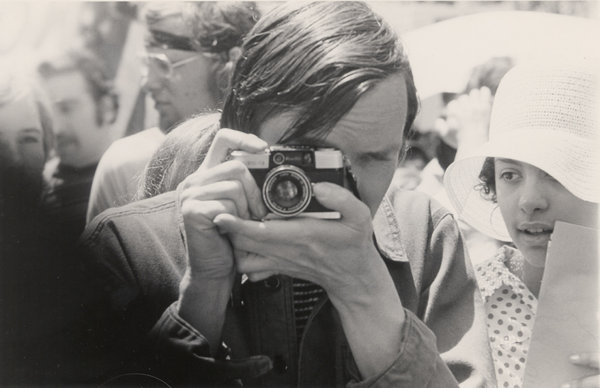 Young Bill Cunningham