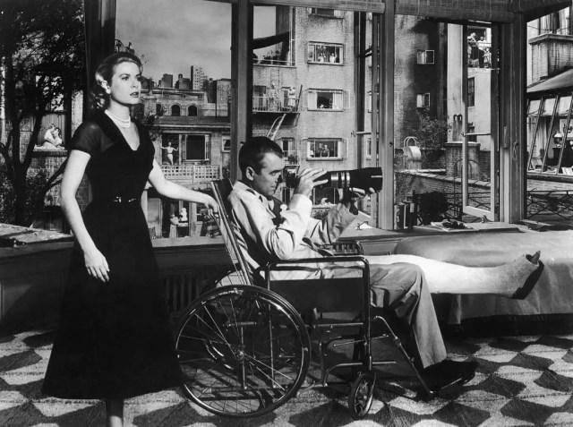James Stewart in Rear Window