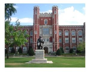 University of Oklahoma Campus; Norman, Oklahoma