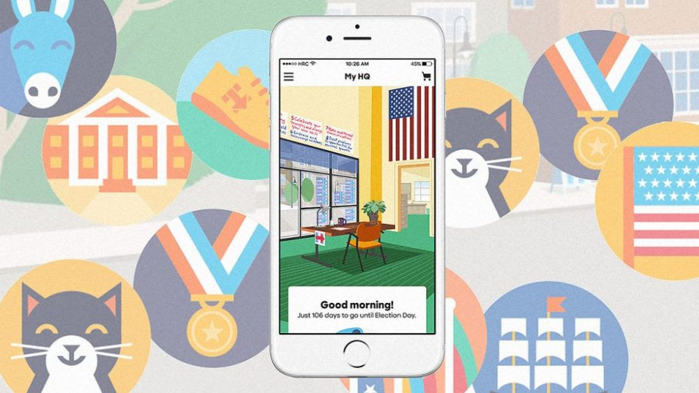 The Hillary Clinton App: Political Tool, Fun Game, or Both?