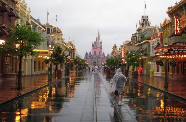 What It's Like to Weather a Hurricane at Walt Disney World