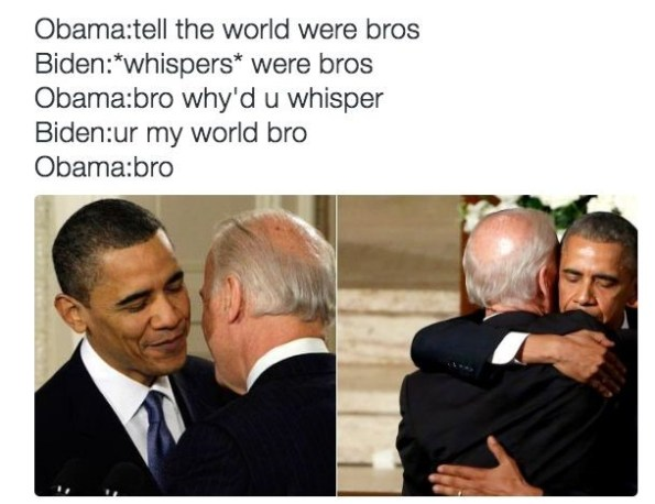 The Iconic Biden-Obama Bromance and Why It's So Unique