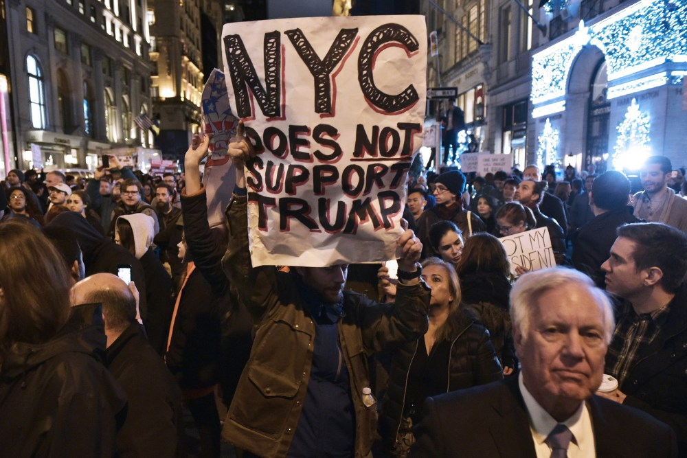 Why the Nationwide Protests Against Trump Do Matter