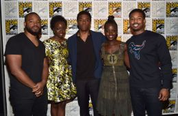 "What the ""90 Percent"" Black Cast of ""Black Panther"" Means in the Age of Whitewashing"