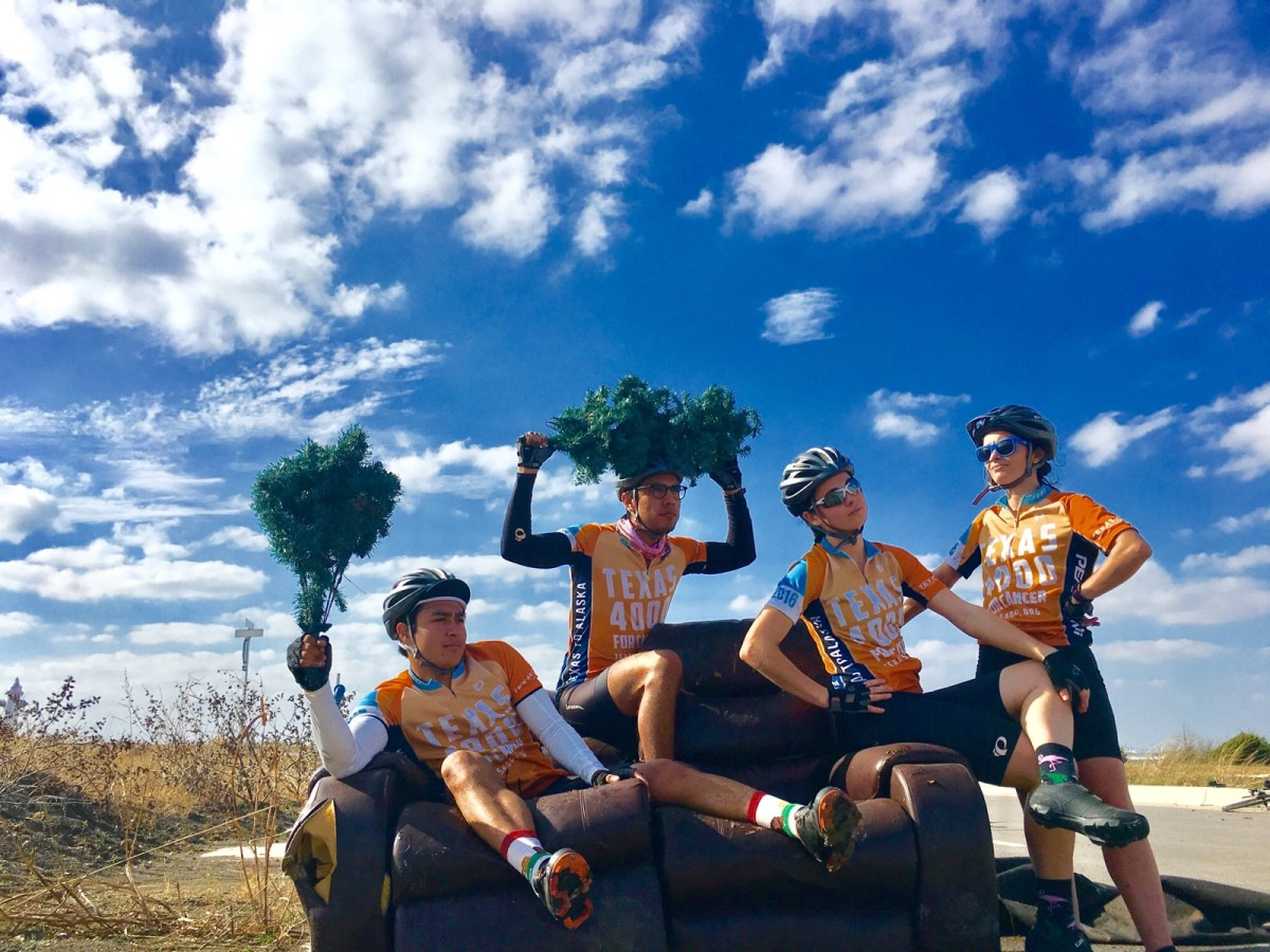 Why Liz Schasel, a Plan II Student at UT, Is Biking from Austin to Anchorage