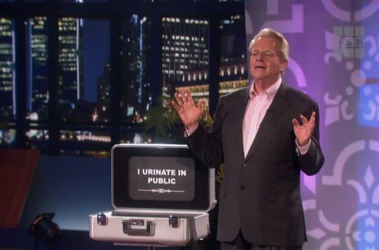 """Why Now More Than Ever, the World Needs Jerry Springer's """"Baggage"""""""