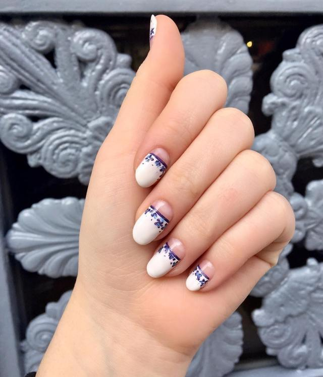 As a Professional Nail Artist and Northwestern Student, Halle Butler Stays Polished