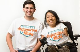 Meet the Winners of UT's Historic Student Body Election, Alejandrina Guzman and Micky Wolf