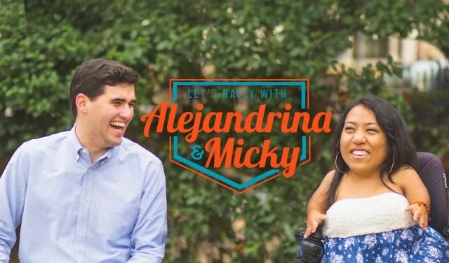 Meet the Winners of UT's Historic Student Body Election, Alejandrina Guzman and Micky Wolf