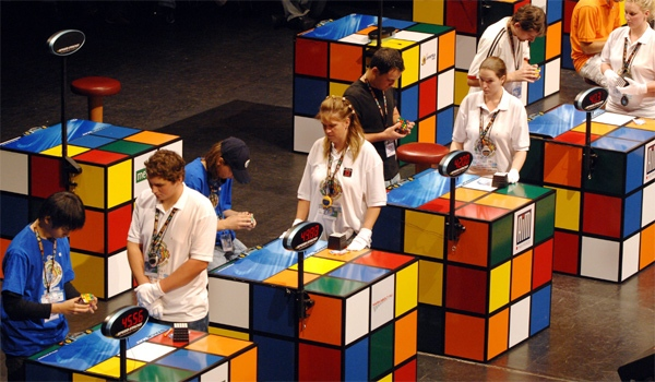 Rubik's Skewbed: A Look Inside the World of Competitive Cubing