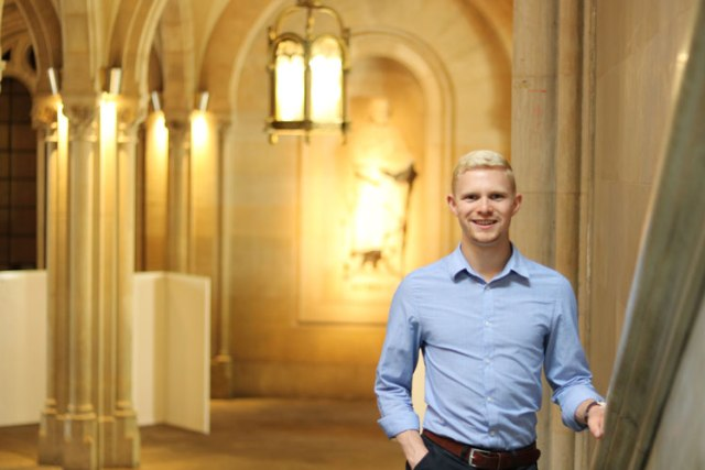 Ty Debes, a Student at IUB, Speaks 10 Different Languages and Counting